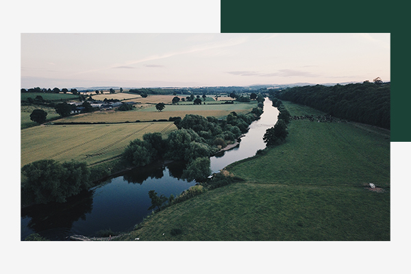 river wye from above