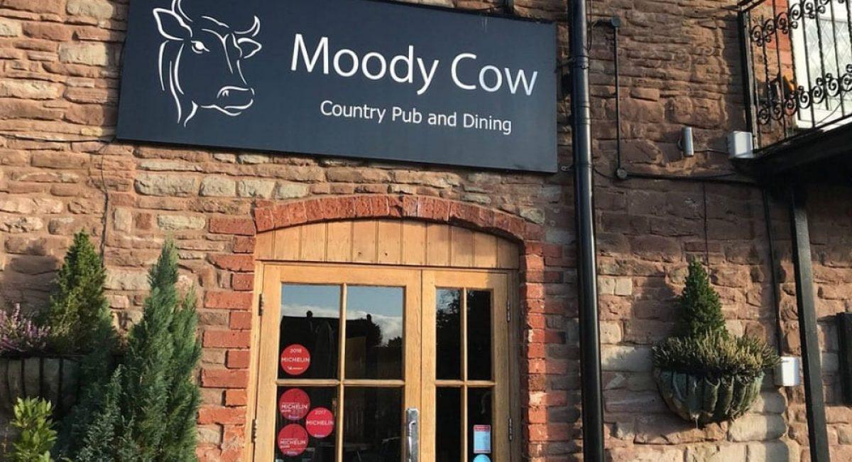 moody cow pub entrance