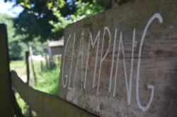 Glamping Sign